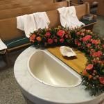Baptismal Font 2017
