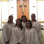 Newly Baptized 2017