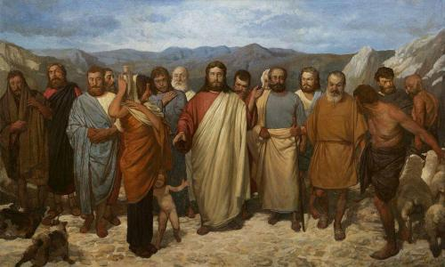 Christ_with_his_disciples._Mironov-500x300